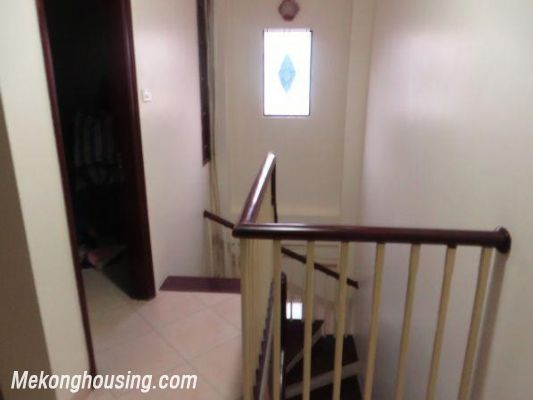 4 floors house with modern furniture for rent in Doi Can street, Ba Dinh district, Hanoi 4