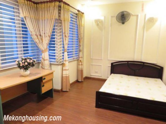 4 floors house with modern furniture for rent in Doi Can street, Ba Dinh district, Hanoi 5
