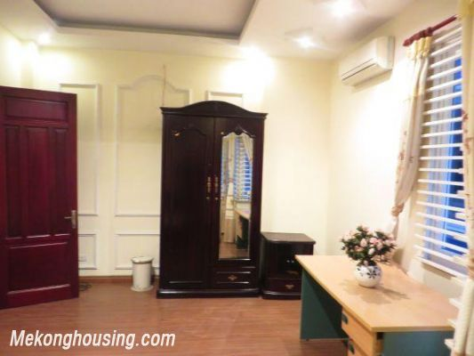 4 floors house with modern furniture for rent in Doi Can street, Ba Dinh district, Hanoi 7