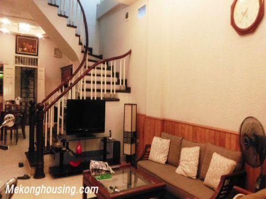 5 bedrooms house for rent in Van Chuong lane, Dong Da district, Hanoi 2