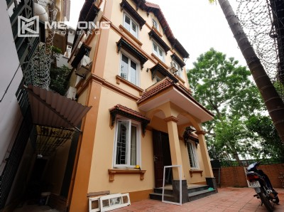 A French style house for rent with lake view in Tay Ho