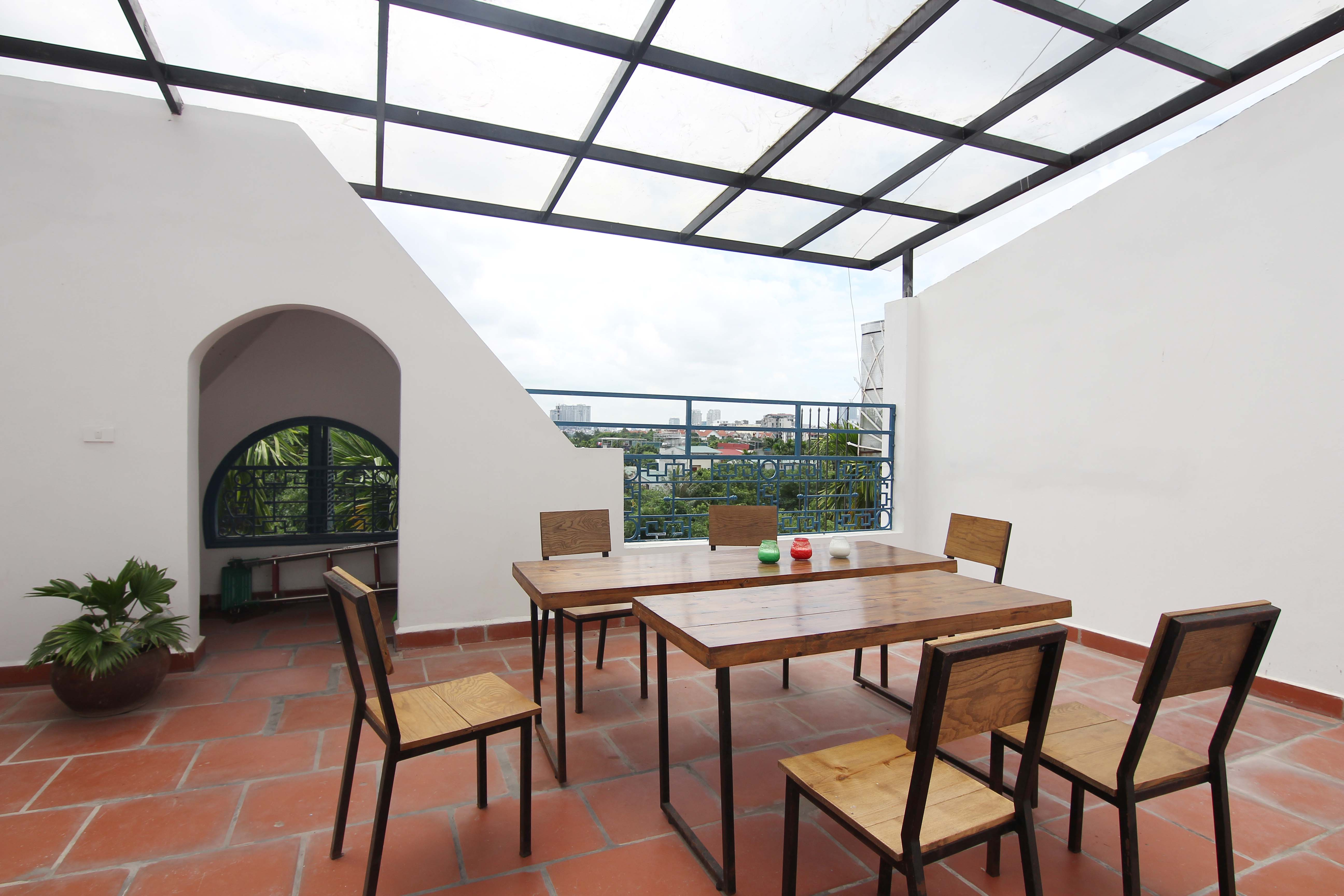 A lovely villa with 5 bedroom for rent on Xom Chua street, Tay Ho district 25
