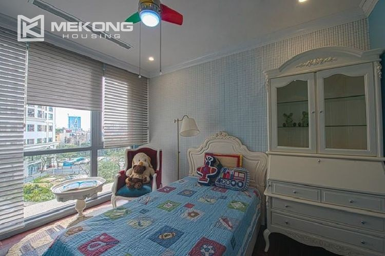 A neo-classic style apartment with 3 bedrooms for rent in Royal City Hanoi 21