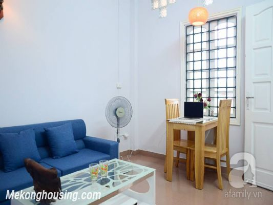A nice serviced apartment with 1 bedroom for rent in Vong Thi street, Tay Ho district 1