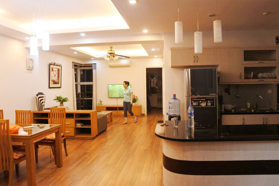 Affordable 3 BR apartment with Westlake view in G3 tower, Ciputra Hanoi 3