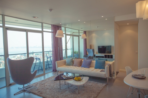 Apartment for rent in Watermark building, Cau Giay district Hanoi