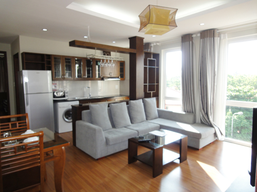 Apartment in Xuan Dieu, Tay Ho, modern style , open & green view