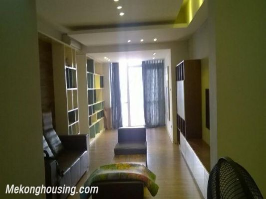 Apartment with 3 bedrooms for rent in Pham Ngoc Thach street, Dong Da, Hanoi 2