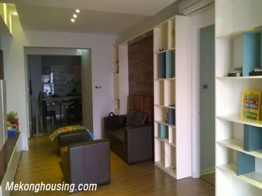 Apartment with 3 bedrooms for rent in Pham Ngoc Thach street, Dong Da, Hanoi 3
