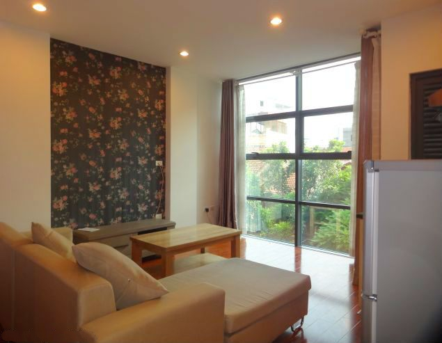 Band new serviced apartment for rent in Pho Duc Chinh street, Ba Dinh, Hanoi