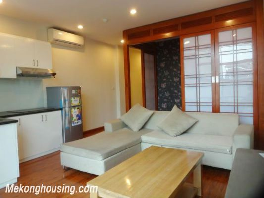 Band new serviced apartment for rent in Pho Duc Chinh street, Ba Dinh, Hanoi 2