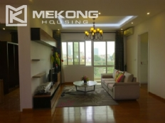 Beautiful 4 bedroom apartment with modern design in E4 tower, Ciputra Hanoi