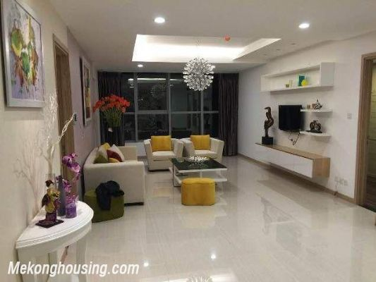 Beautiful and modern apartment for rent in Thang Long Number One, Cau Giay, Hanoi 1