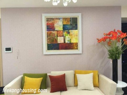 Beautiful and modern apartment for rent in Thang Long Number One, Cau Giay, Hanoi 2