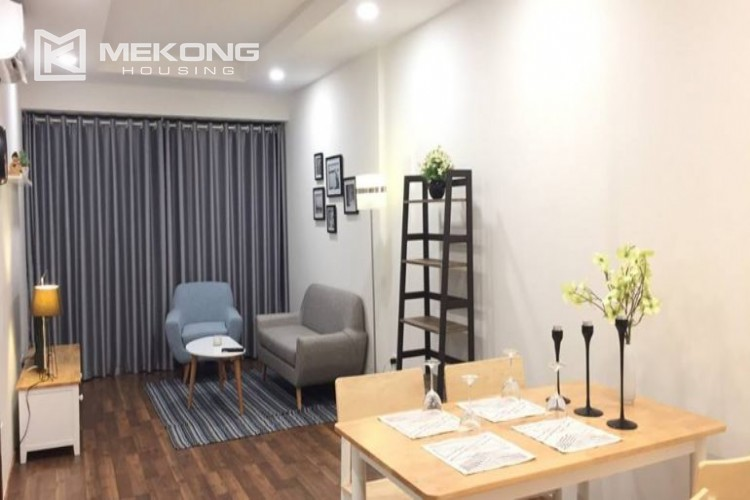 Beautiful apartment with 2 bedrooms for rent in Goldmark city, 136 Ho Tung Mau 1