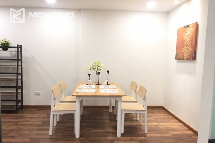 Beautiful apartment with 2 bedrooms for rent in Goldmark city, 136 Ho Tung Mau 4