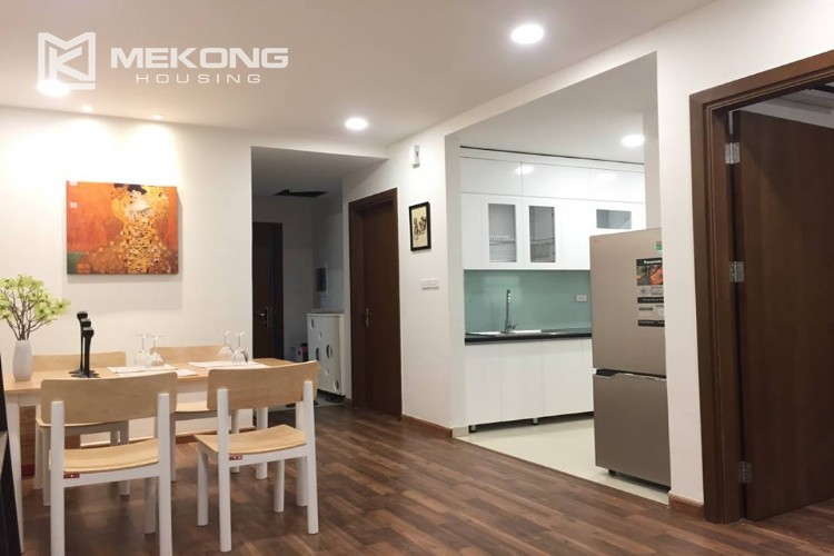 Beautiful apartment with 2 bedrooms for rent in Goldmark city, 136 Ho Tung Mau 7