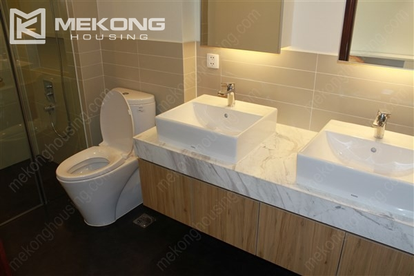 Beautiful apartment with 2 bedrooms on middle level in Watermark Lac Long Quan 11