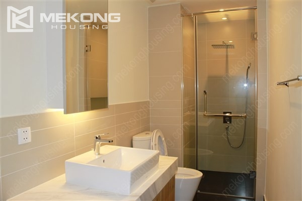 Beautiful apartment with 2 bedrooms on middle level in Watermark Lac Long Quan 7