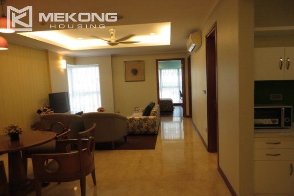 Beautiful apartment with 3 bedroom and modern furniture for rent in L building, Ciputra Hanoi 1
