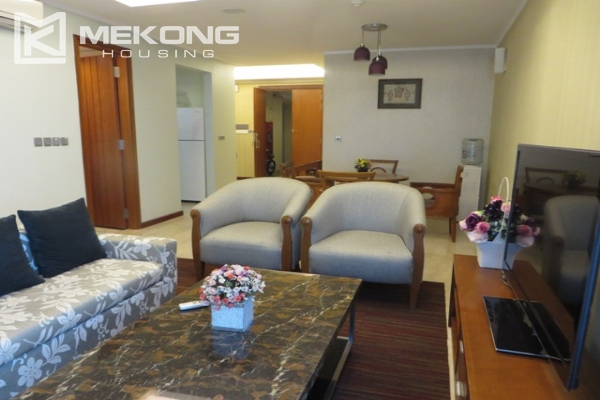 Beautiful apartment with 3 bedroom and modern furniture for rent in L building, Ciputra Hanoi 2