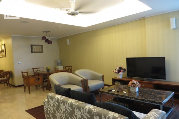 Beautiful apartment with 3 bedroom and modern furniture for rent in L building, Ciputra Hanoi 3
