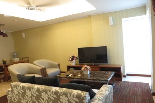 Beautiful apartment with 3 bedroom and modern furniture for rent in L building, Ciputra Hanoi 4