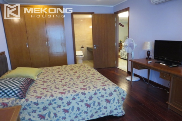 Beautiful apartment with 3 bedroom and modern furniture for rent in L building, Ciputra Hanoi 9