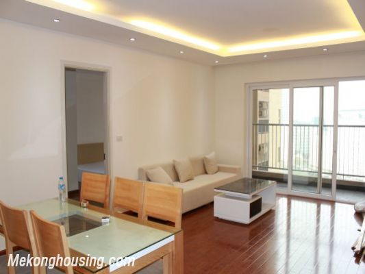 Beautiful apartment with 3 bedrooms for rent in Golden Place, Hanoi 1