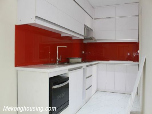 Beautiful apartment with 3 bedrooms for rent in Golden Place, Hanoi 5