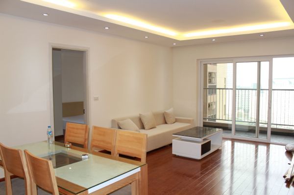 Beautiful apartment with 3 bedrooms for rent in Golden Place, Hanoi