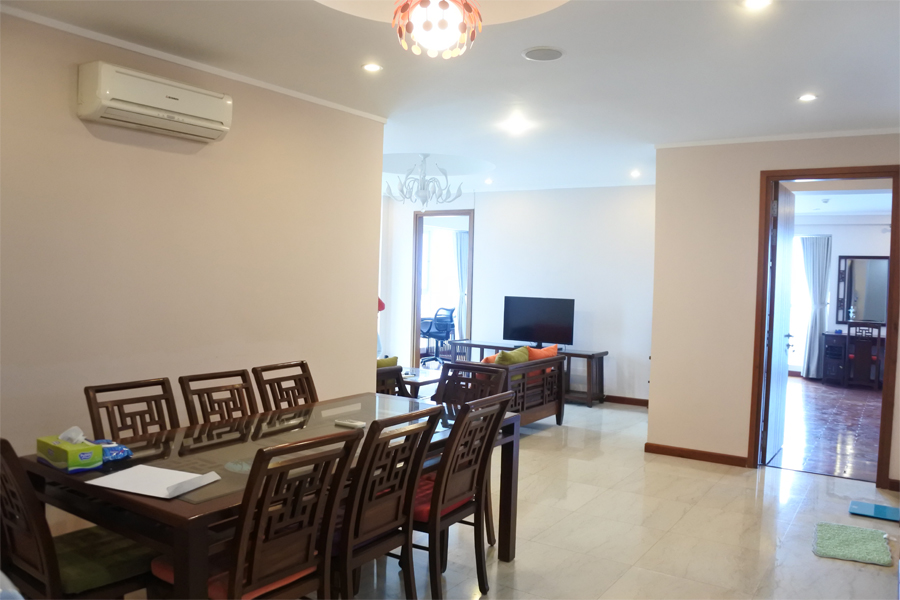 Beautiful apartment with 3 bedrooms on high floor in L2 tower, Ciputra Hanoi 4