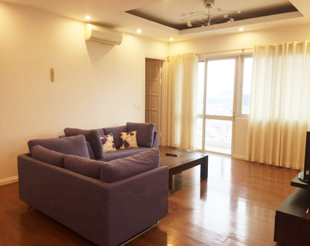 Beautiful apartment with 4 bedrooms and modern furniture in E5 tower, Ciputra Hanoi