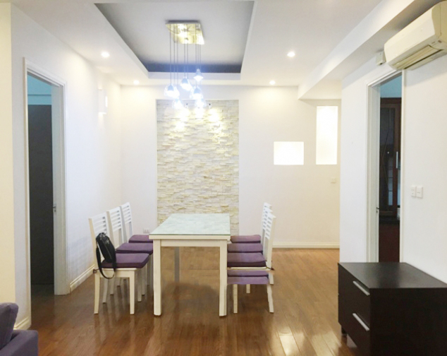 Beautiful apartment with 4 bedrooms and modern furniture in E5 tower, Ciputra Hanoi 2