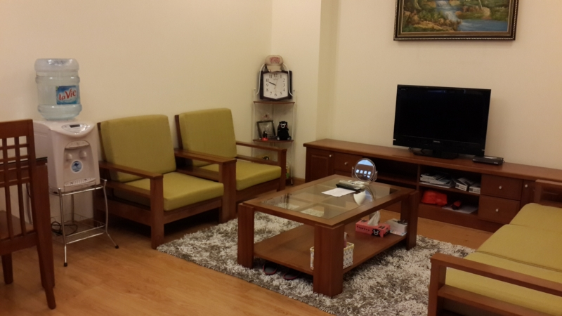 Beautiful apartment with balcony for rent in Doi Can street, Ba Dinh district, Hanoi