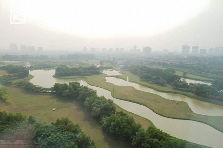 Beautiful apartment with Golf course view and modern furniture in L4 tower, Ciputra Hanoi 2