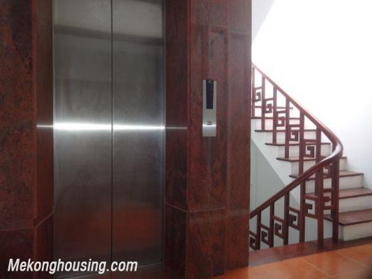 Beautiful apartment with Truc Bach lake view for rent in Tran Vu, Ba Dinh, Hanoi 1