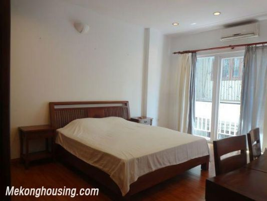 Beautiful apartment with Truc Bach lake view for rent in Tran Vu, Ba Dinh, Hanoi 17