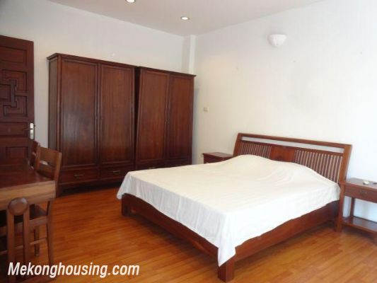 Beautiful apartment with Truc Bach lake view for rent in Tran Vu, Ba Dinh, Hanoi 18