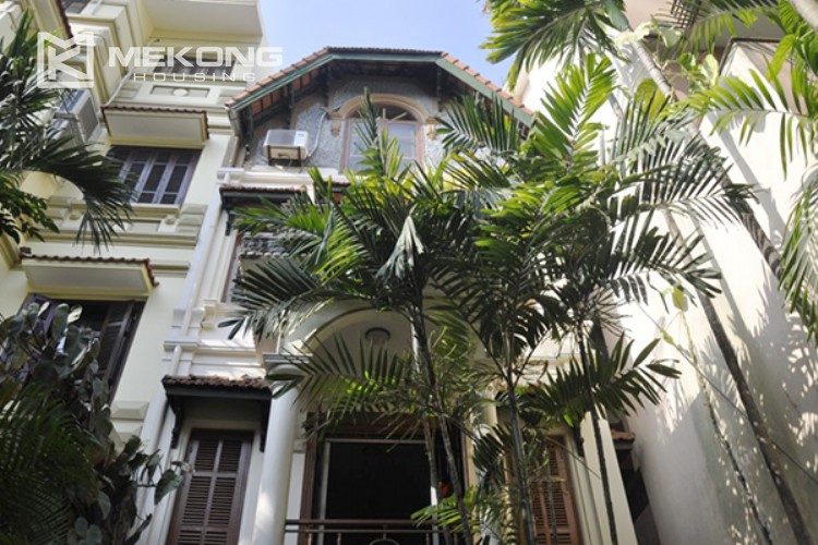 Beautiful house for rent in To Ngoc Van street with swimming pool 1