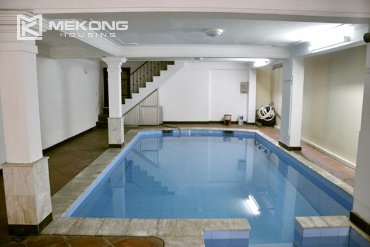 Beautiful house for rent in To Ngoc Van street with swimming pool 3