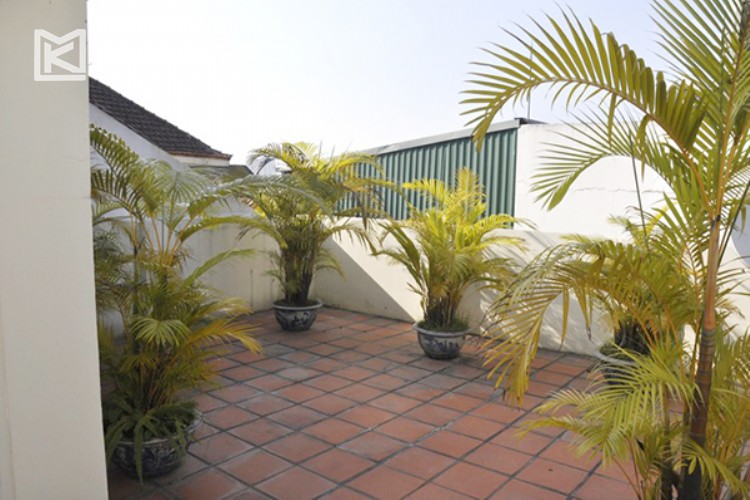 Beautiful house for rent in To Ngoc Van street with swimming pool 16