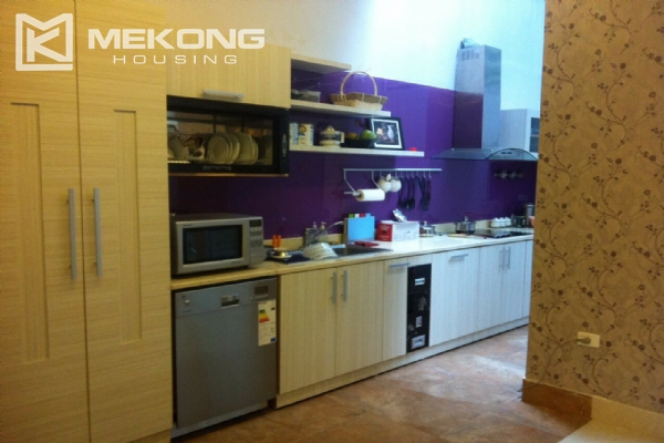 Beautiful house with 4 bedrooms for rent in C4 block, Ciputra Hanoi 10
