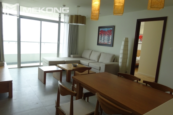 Beautiful lake view apartment for rent in Watermark Lac Long Quan 3