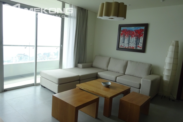 Beautiful lake view apartment for rent in Watermark Lac Long Quan 9