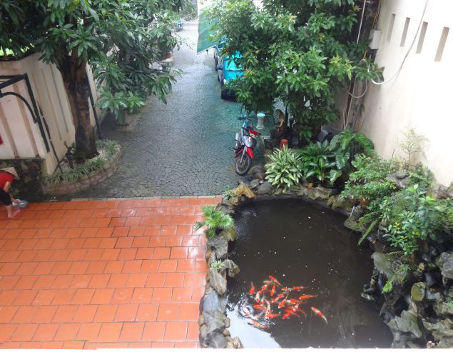 Beautiful private swimming pool villa for rent in An Duong, Tay Ho district, Hanoi