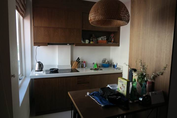Beautiful serviced apartment for rent in Kim Ma street, Ba Dinh district, Hanoi