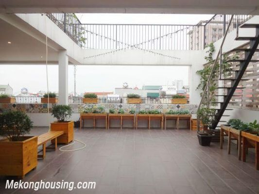 Beautiful serviced apartment for rent in Vong Thi street, Tay Ho district, Hanoi 11