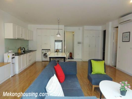 Beautiful serviced apartment for rent in Vong Thi street, Tay Ho district, Hanoi 4
