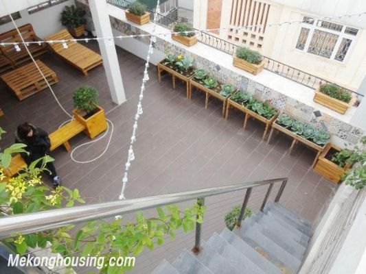 Beautiful serviced apartment for rent in Vong Thi street, Tay Ho district, Hanoi 12